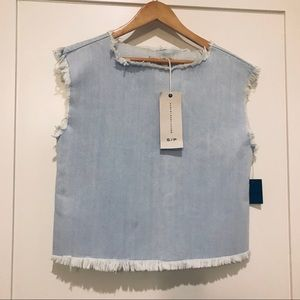 Marc By Marc Jacobs Tops - NWOT Marc by Marc Jacobs denim top; size SMALL